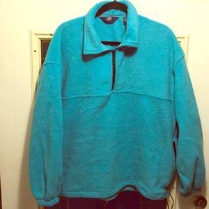 Heavy Fleece Pull-Over Sweater